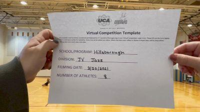 Hillsborough High School [Junior Varsity - Jazz] 2021 UCA & UDA March Virtual Challenge