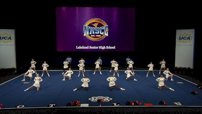 Lakeland Senior High School [2021 Medium Non Tumbling Semis] 2021 UCA National High School Cheerleading Championship