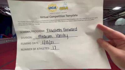 Elizabeth Forward High School [Medium Varsity] 2021 UCA January Virtual Challenge