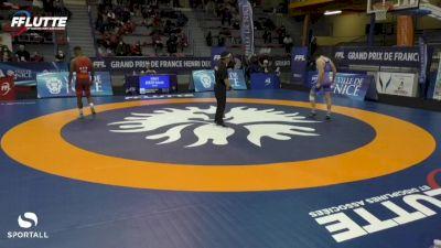 74 kg Repechage 2:4 - Mitchell Finesilver, Israel vs Charles Afa, France