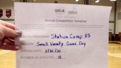 Station Camp High School [Game Day Varsity] 2021 UDA South Spring Virtual Dance Challenge