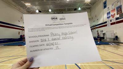 Perry High School [Small Junior Varsity] 2021 UCA January Virtual Challenge
