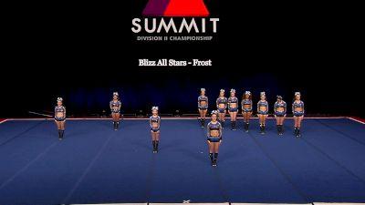 Blizz All Stars - Frost [2021 L4.2 Senior - Small Finals] 2021 The D2 Summit