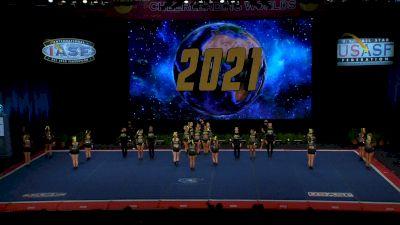 The Stingray Allstars - Marietta - Electric [2021 L6 Senior Open Small Coed Finals] 2021 The Cheerleading Worlds