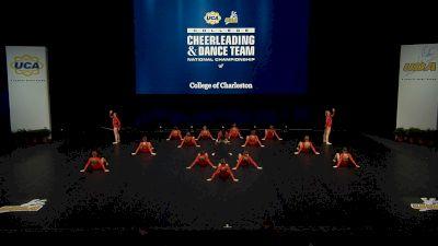 College of Charleston [2021 Division I Jazz Finals] 2021 UCA & UDA College Cheerleading & Dance Team National Championship