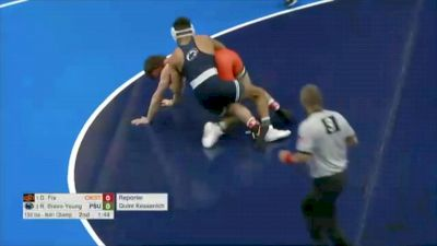 133 Final, Roman Bravo-Young, PSU vs Daton Fix, OK State