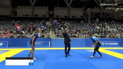Rylee Kitchen vs SKYLAR RAINE IDELL 2021 World IBJJF Jiu-Jitsu No-Gi Championship