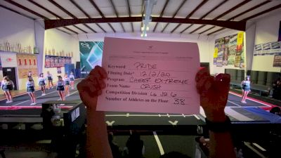 Cheer Extreme - Kernersville - Crush [L6 Junior] 2020 WSF All Star Cheer & Dance Virtual Championship