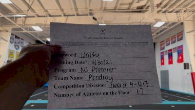 NJ Premier All Stars - Prodigy [L4 - U17] 2021 Mid Atlantic Virtual Championship