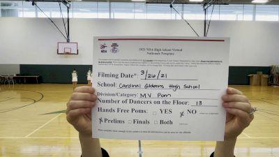 Cardinal Gibbons High School [Virtual Medium Varsity - Pom Prelims] 2021 NDA High School National Championship