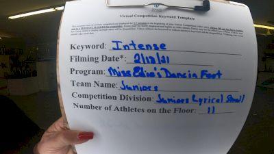 Miss Edie's Dancin Feet - Juniors(C/L) [Junior - Contemporary/Lyrical] 2021 Coastal at the Capitol Virtual National Championship
