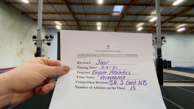 Empire Athletics - Vengance [L3 Senior Coed - Non-Building] 2021 The Regional Summit Virtual Championships
