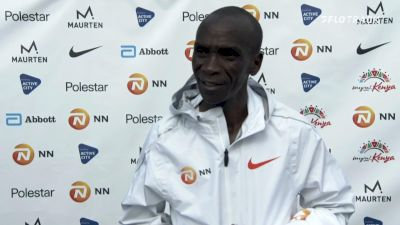 Eliud Kipchoge Post-Race Interview: 2021 NN Mission Marathon