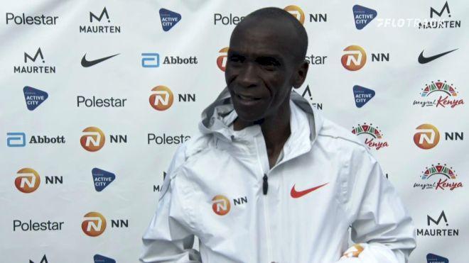 Eliud Kipchoge Post-Race Interview: 2021 NN Mission Marathon