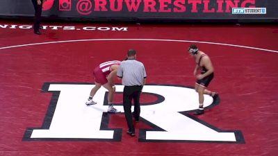 165 lbs: Davey Tunon, Indiana vs Brett Donner, Rutgers