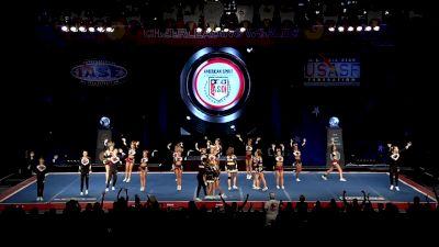 KC Cheer - FIERCE 5 [2019 L5 Senior Small Coed Semis] 2019 The Cheerleading Worlds