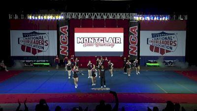 Montclair State University [2019 Intermediate Small Coed III Finals] 2019 NCA & NDA Collegiate Cheer and Dance Championship