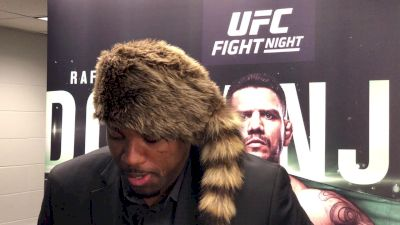 Walt Harris Goes Full Davy Crockett After UFC San Antonio Win