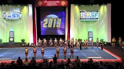 Top Gun All Stars - Ohio - Royal Jags [2019 L5 Senior Open Small Coed Semis] 2019 The Cheerleading Worlds