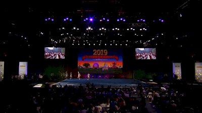 University of Massachusetts-Amherst [2019 All Girl Division IA Semis] UCA & UDA College Cheerleading and Dance Team National Championship