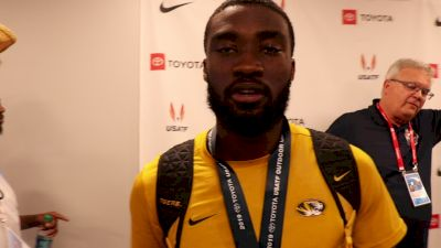 Ja'Mari Ward Wins U.S. Long Jump Title