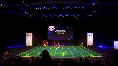 Beech High School [2020 Junior Varsity Non Tumbling Game Day Finals] 2020 UCA National High School Cheerleading Championship