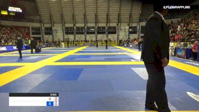 MADISON VAN DYKE vs NYCOLLE CALHEIROS 2019 Pan Kids Jiu-Jitsu IBJJF Championship