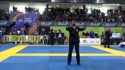 S. Aliyev vs A. Faiz 2019 IBJJF European Championship