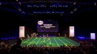 Ursuline High School [2020 Junior Varsity Non Tumbling Game Day Finals] 2020 UCA National High School Cheerleading Championship