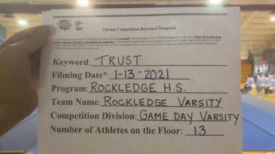 Rockledge High School [Game Day Varsity] 2021 NCA & NDA Virtual January Championship