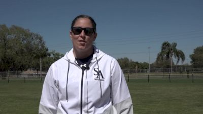 St. Anselm Coach Gagnon On Her Team's Attitude & Energy