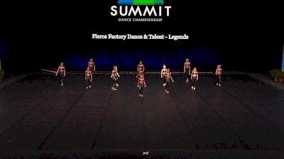 Fierce Factory Dance & Talent - Legends [2021 Mini Jazz Finals] 2021 The Dance Summit