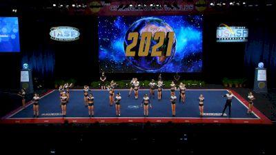 Woodlands Elite - OR - Gun Smoke [2021 L6 Senior Open Small Coed Semis] 2021 The Cheerleading Worlds