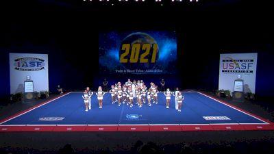 Twist & Shout - Tulsa - Adam & Eve [2021 L6 International Open Coed Non Tumbling Semis] 2021 The Cheerleading Worlds
