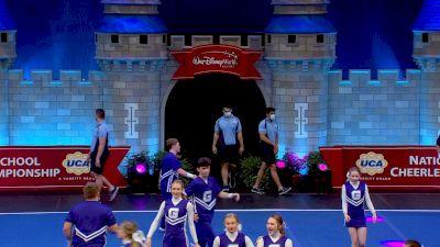 Graves County High School [2021 Large Varsity Coed Semis] 2021 UCA National High School Cheerleading Championship