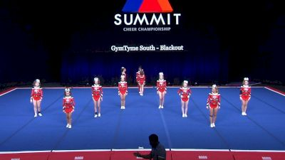 GymTyme South - Blackout [2021 L4 Senior Coed - Small Wild Card] 2021 The Summit