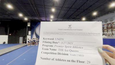 Premier Spirit Athletics - THE Ice Queens [L2 Youth - Medium] 2021 Mid Atlantic Virtual Championship