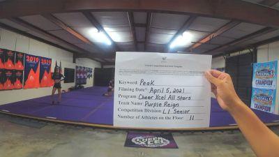 Cheer Xcel - Purple Reign [L1 Senior] 2021 The Regional Summit Virtual Championships