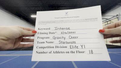 Gravity Cheer - Starbursts [L1 Youth - Small] 2021 Coastal at the Capitol Virtual National Championship