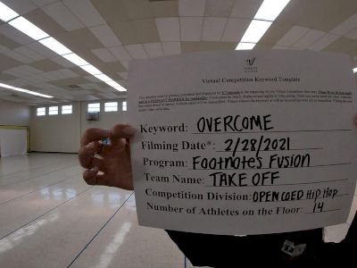 Footnotes Fusion - Open Coed Hip Hop Premier [Open Coed Hip Hop Elite] 2021 Spirit Sports: Virtual Duel in the Desert