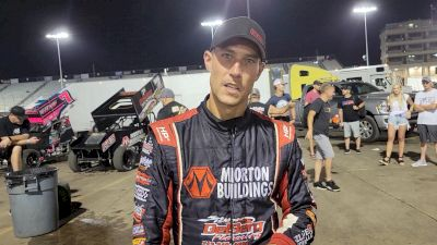 Wednesday Knoxville Nationals Qualifier Gets Away From Justin Henderson