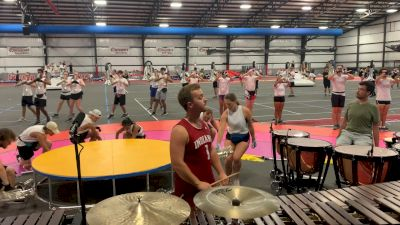 """2021 Bluecoats Spring Training: """"Lucy"""" Double Tonguing & Trombone Feature"""