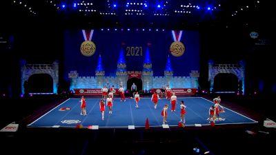 Hudson High School [2021 Small Varsity Coed Finals] 2021 UCA National High School Cheerleading Championship
