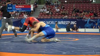 71 kg - Alex FACUNDO, USA vs Soslan TIGIEV, RUS