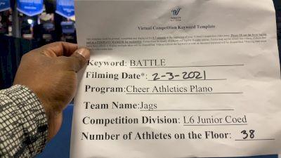 Cheer Athletics - Jags [L6 Junior Coed] 2021MG Extravaganza Virtual Nationals