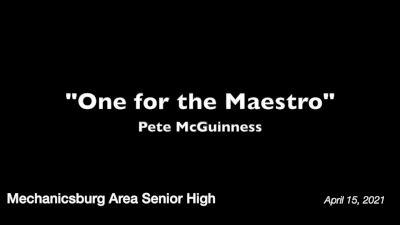 The MASH Jazz Ensemble - One for the Maestro