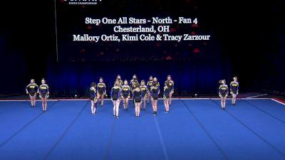 Step One All Stars - North - Fan 4 [2021 L4 U17 Coed Prelims] 2021 The Summit