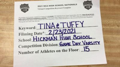 Hickman High School [Game Day Varsity ] 2021 NCA High School Nationals