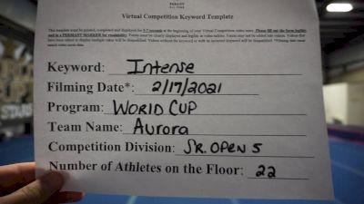 World Cup - Aurora [L5 Senior Open] 2021 Coastal at the Capitol Virtual National Championship