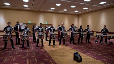 In The Lot: 2021 Boston Crusaders Battery @ DCI Celebration, Day 1